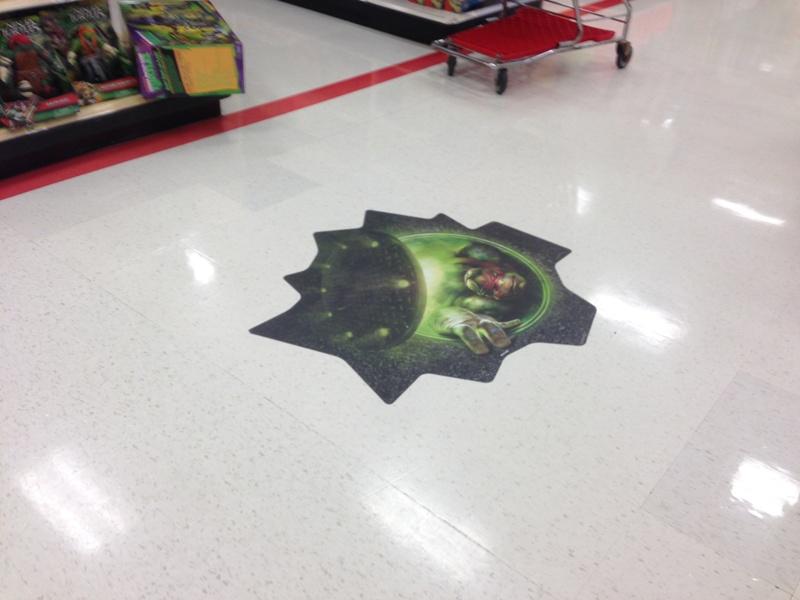 Floor Wraps