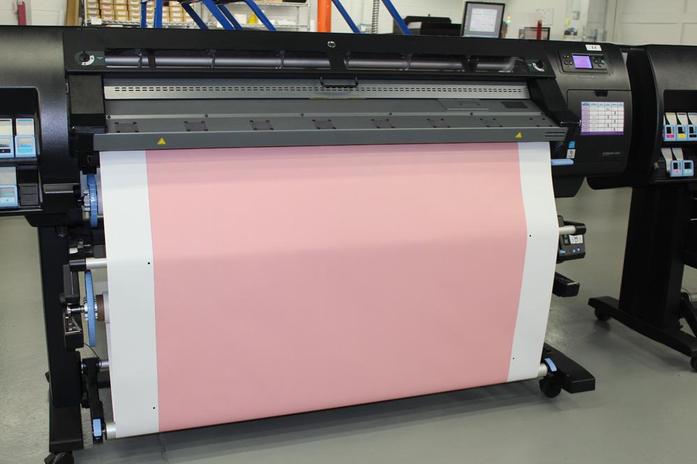 Printing Adhesive Vinyl Wall Wrap