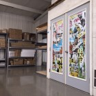 adhesive vinyl, glass, window, signage, wrap