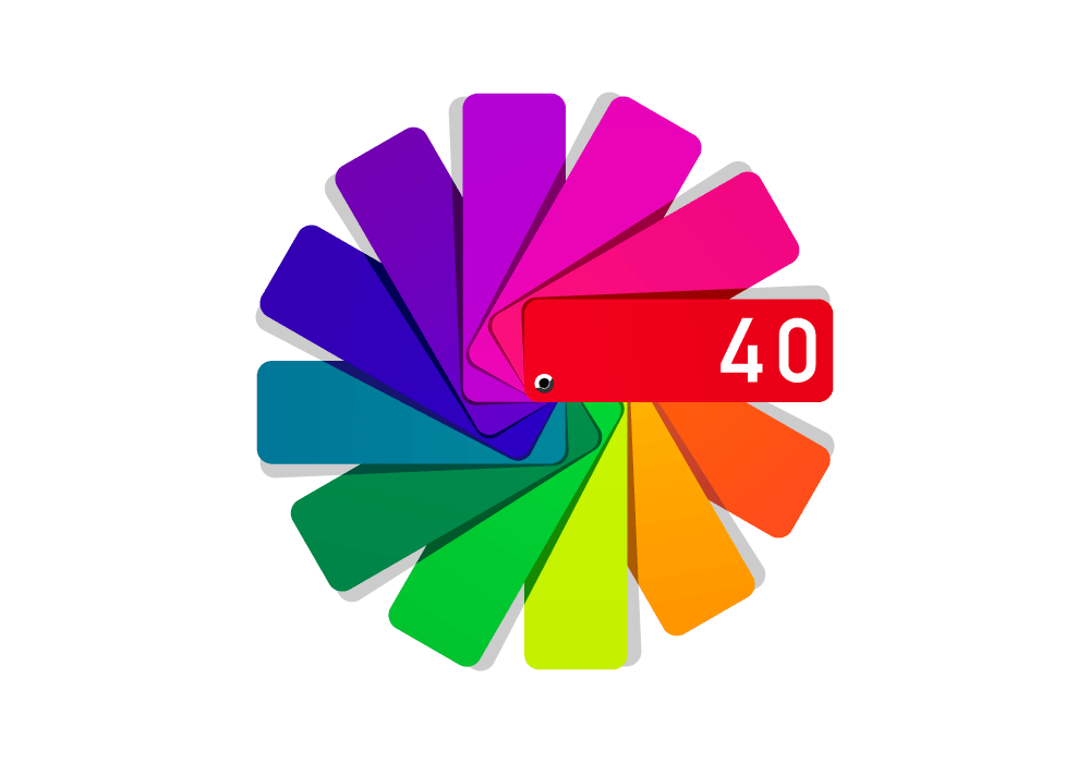 40 visuals color management