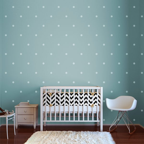 Polka Dot Wall Stickers Amp Decals For The Modern Nursery