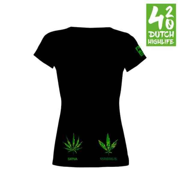 T-shirt Indica dames Achterkant