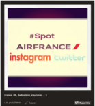 #Spot Airfrance door Airfrance