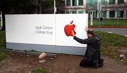 Apple aanbidder