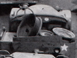 In this close up we have a round nose BRC-60 in front of a later Bantam BRC-40. Note the rear fuel tank cap on the passenger side.
