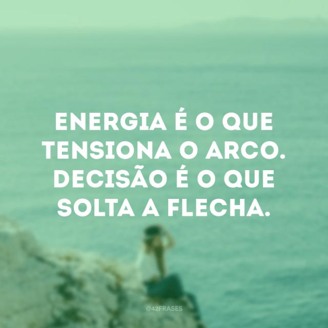 Energia e Decisão