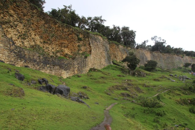 The walls of Kuelap.