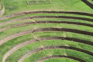 Steps leading between andenes at Moray.