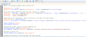Automating employee terminations tasks with PowerShell