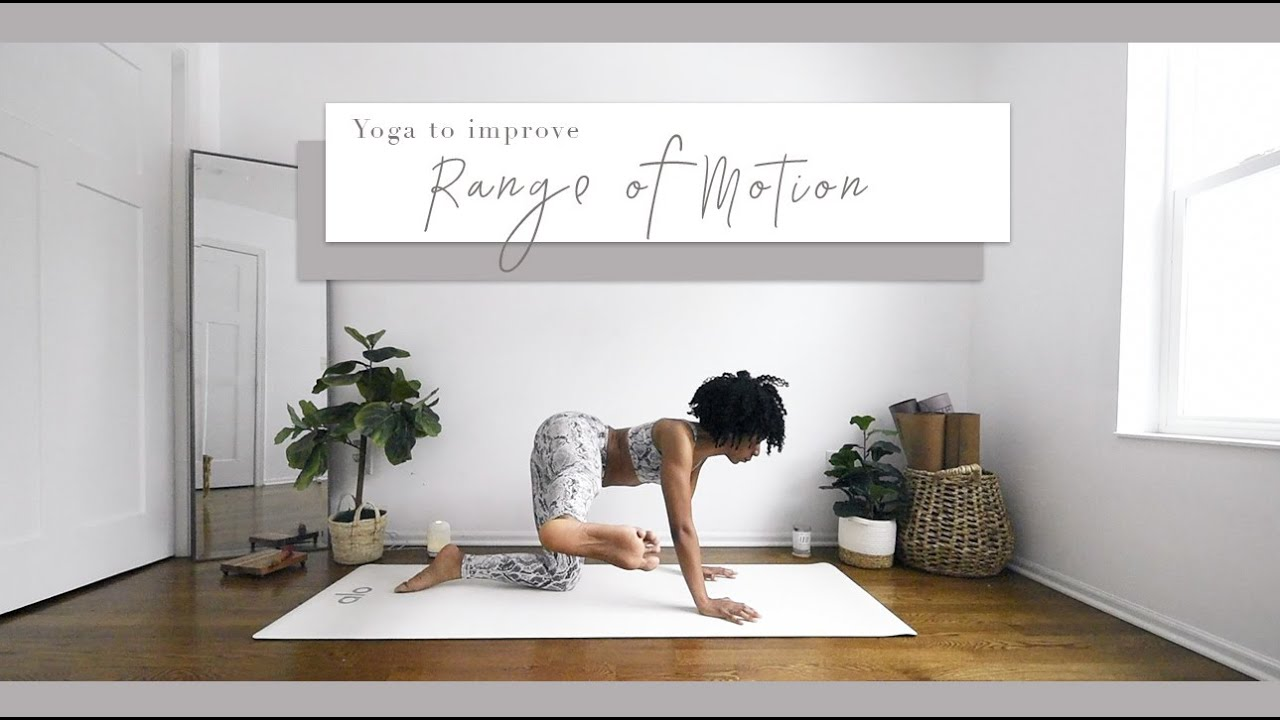 Yoga to help LUBRICATE THE JOINTS & IMPROVE RANGE OF MOTION  | Bright and Salted Yoga