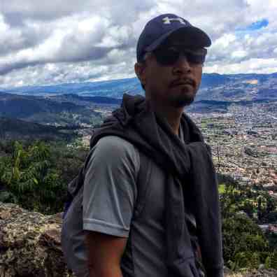 Trin in Monsarate in Bogata must see Colombia