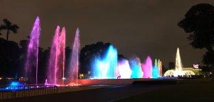 Circuito Mágico del Agua (Magic Water Circuit) Christmas in Lima Peru