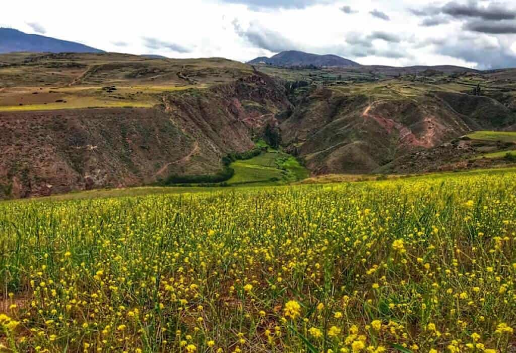 Sacred Valley Peru, learning the benefits of writing