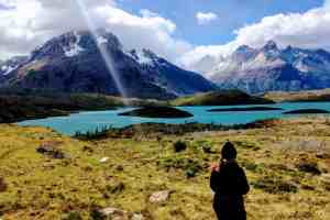 From the Q Trail Torres del Paine