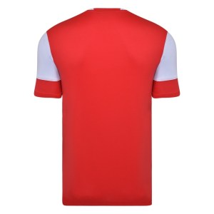 Vier ss jersey - vermillion / white back
