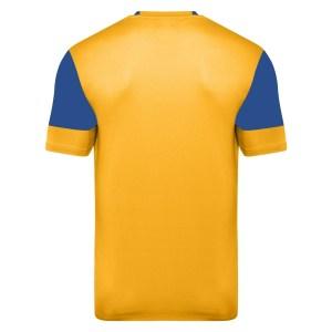 Vier ss jersey - yellow / royal back