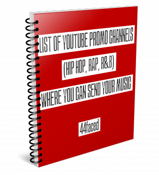 List of YouTube Promo Channels for Hip Hop, Rap and R&B Music