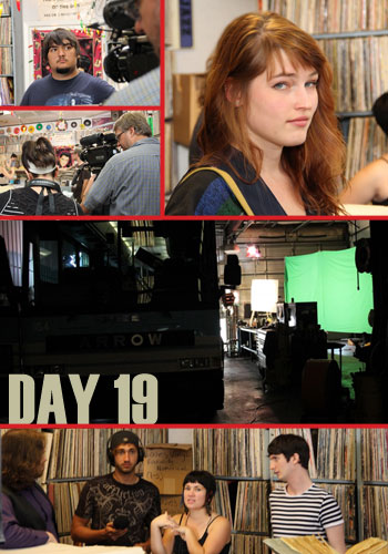 Behind The Scenes Day 19