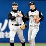 内野、外野問わず好守備連発でチームを支える阪神・大和選手!!