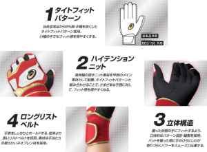 ajp-i-15-12col-batting-glove-glorious-detail