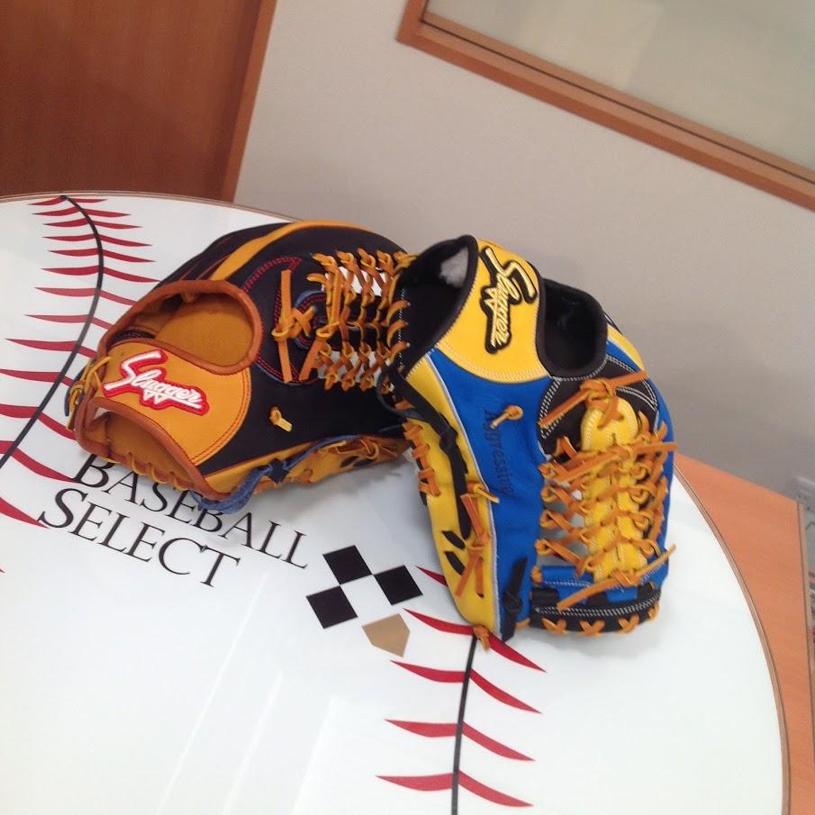 【ベースボールセレクト】10/20のPick up:ベーセレイベント 久保田スラッガー 外野手用 グラブ !!