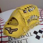 【ベースボールセレクト】10/2のPick up: ミズノ グローバルエリート HSelection∞ 外野手用 限定カラー 1AJGH21307!