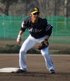 ソフトバンク 明石選手 ナイキ