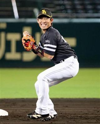 ソフトバンクホークス 本多選手 久保田スラッガー