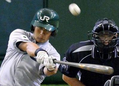 JR東日本 畑中選手(毎日新聞様)