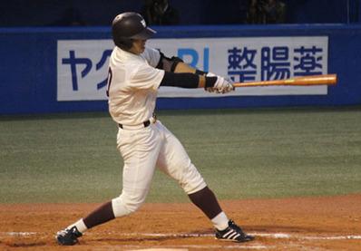 早稲田大学 中村選手 SSK
