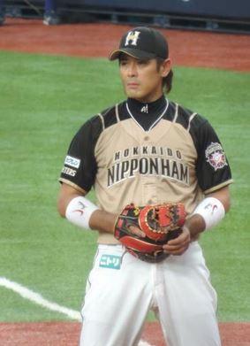 日本ハムファイターズ 稲葉選手 久保田スラッガー ミット