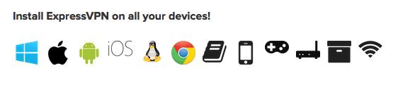 expressvpn设备支持