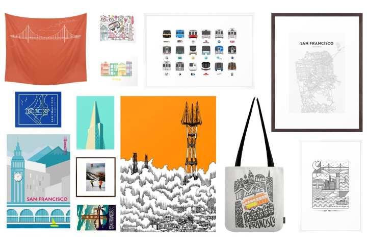 San Francisco affordable art holiday gift guide