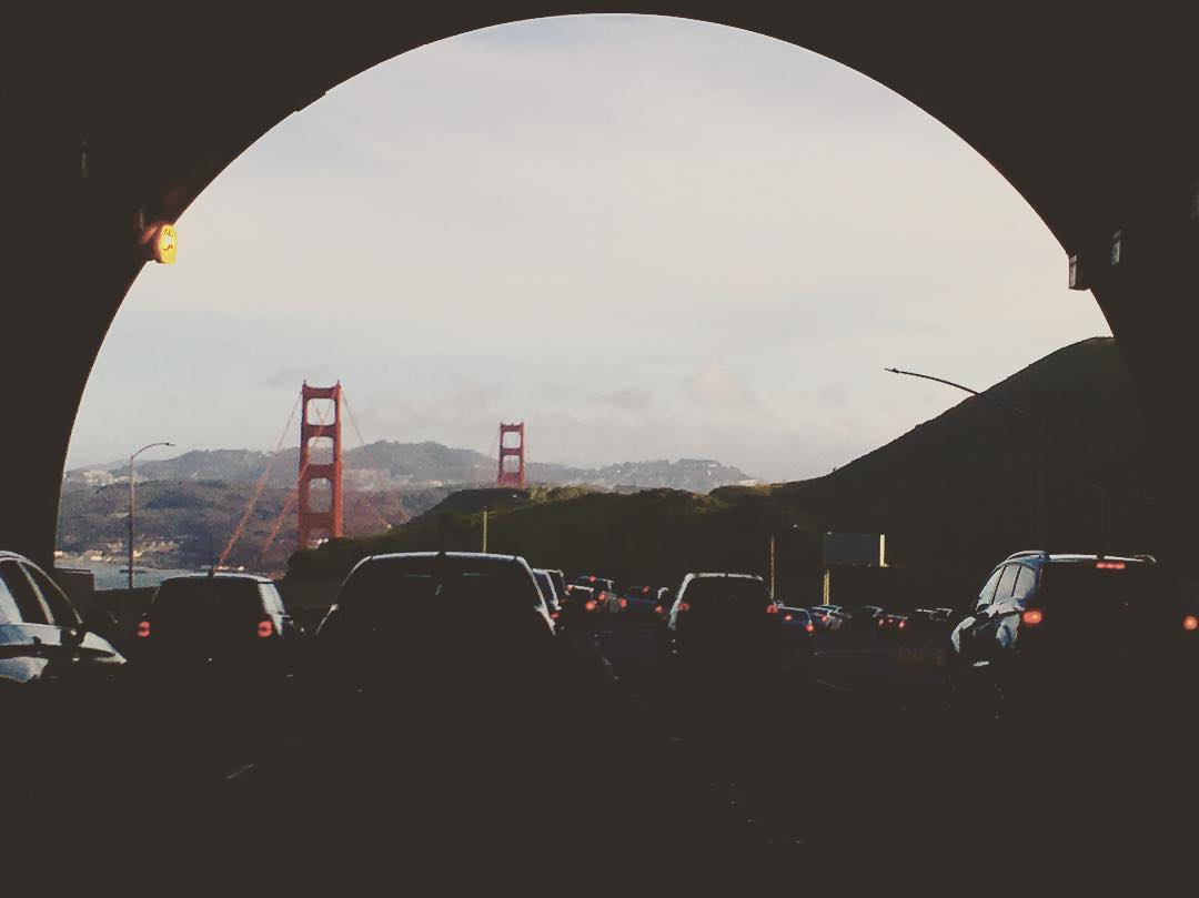 Enroute to the Golden Gate. Photo: aliwunderman.
