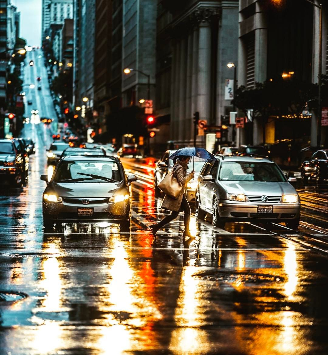 The rain won't stop us. Photo: j.carlosimages.