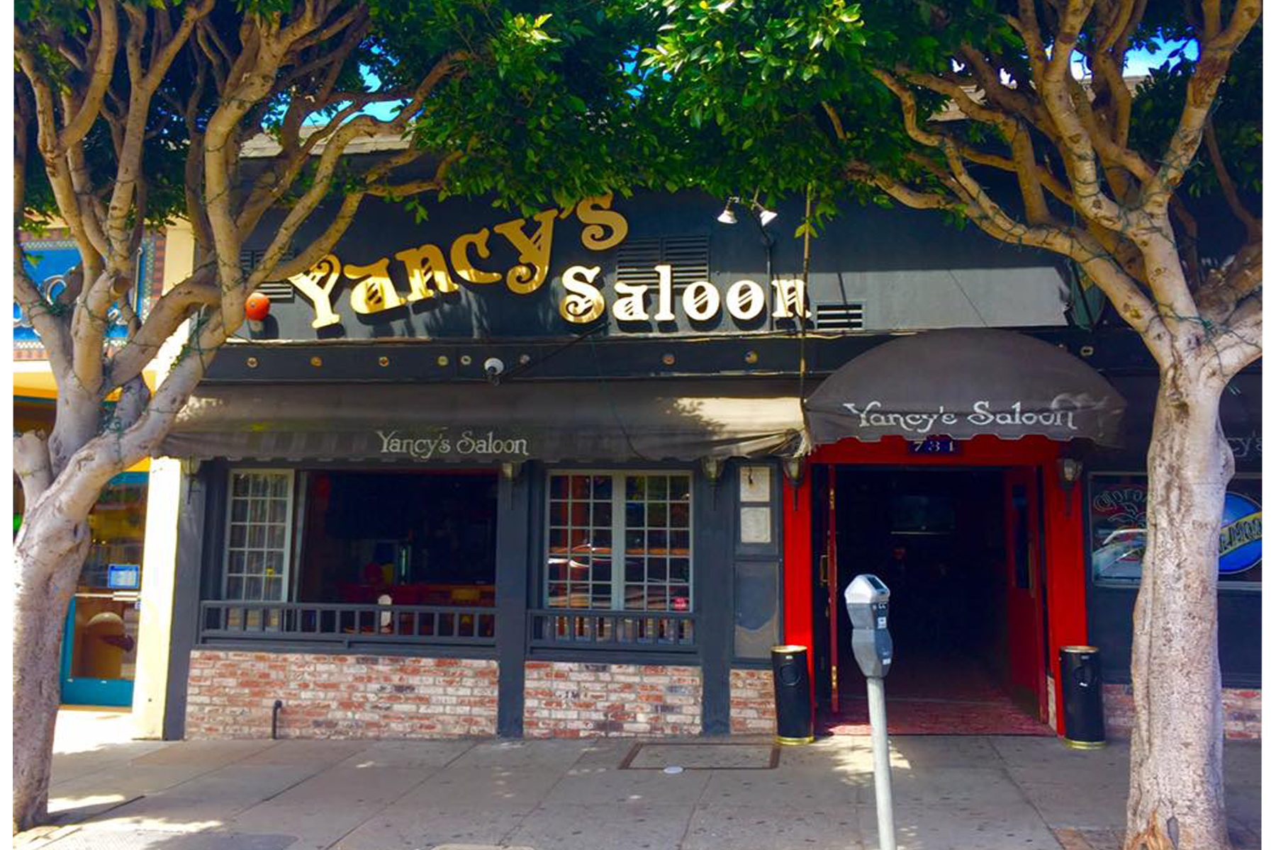 Outside Yancy's. Photo: Yancy's, Facebook.