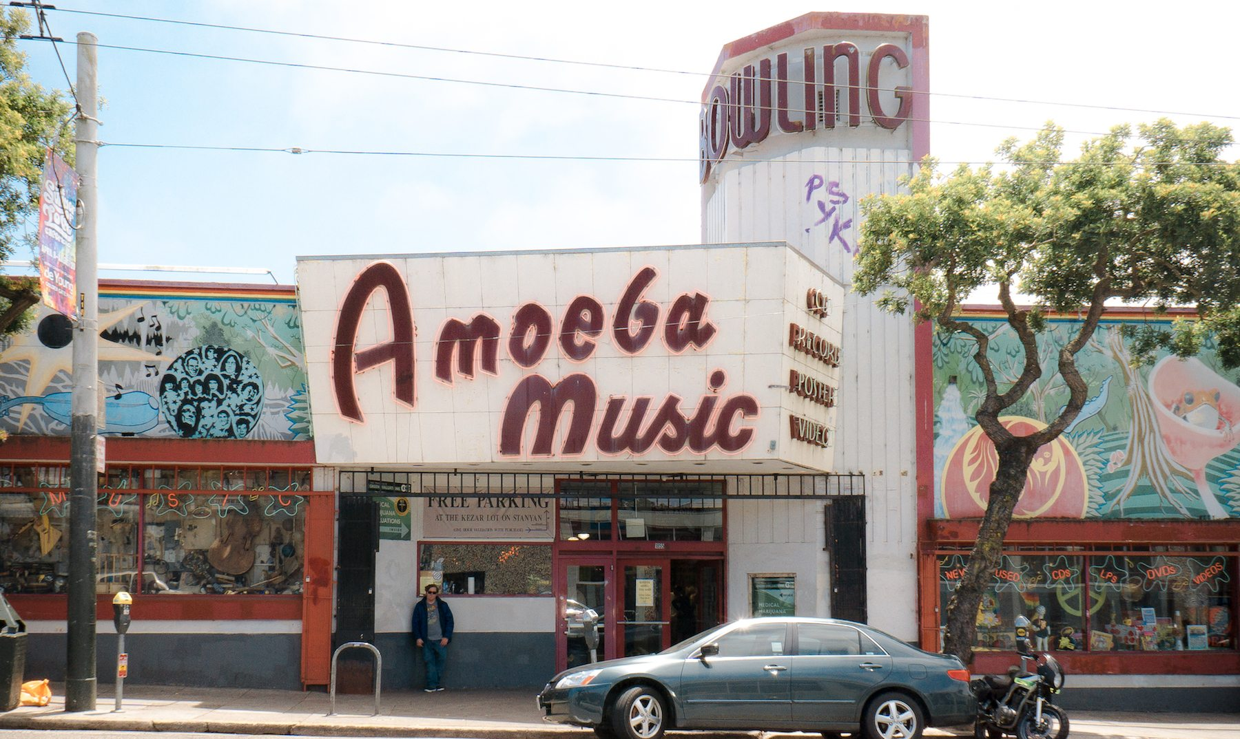 Amoeba Music. Photo: Justin Wong, 49miles.com.