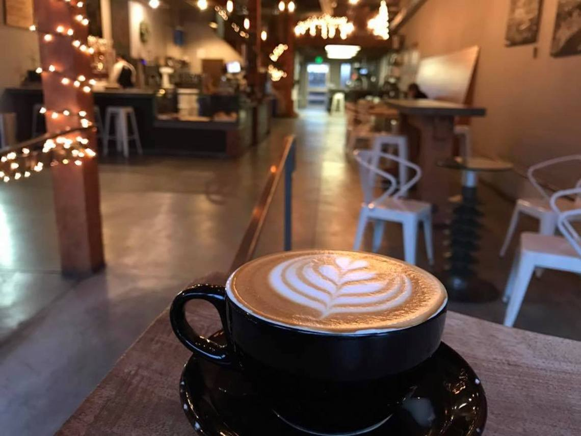 Inside Flywheel Coffee Roaster. Photo: Flywheel Coffee Roaster, Facebook.