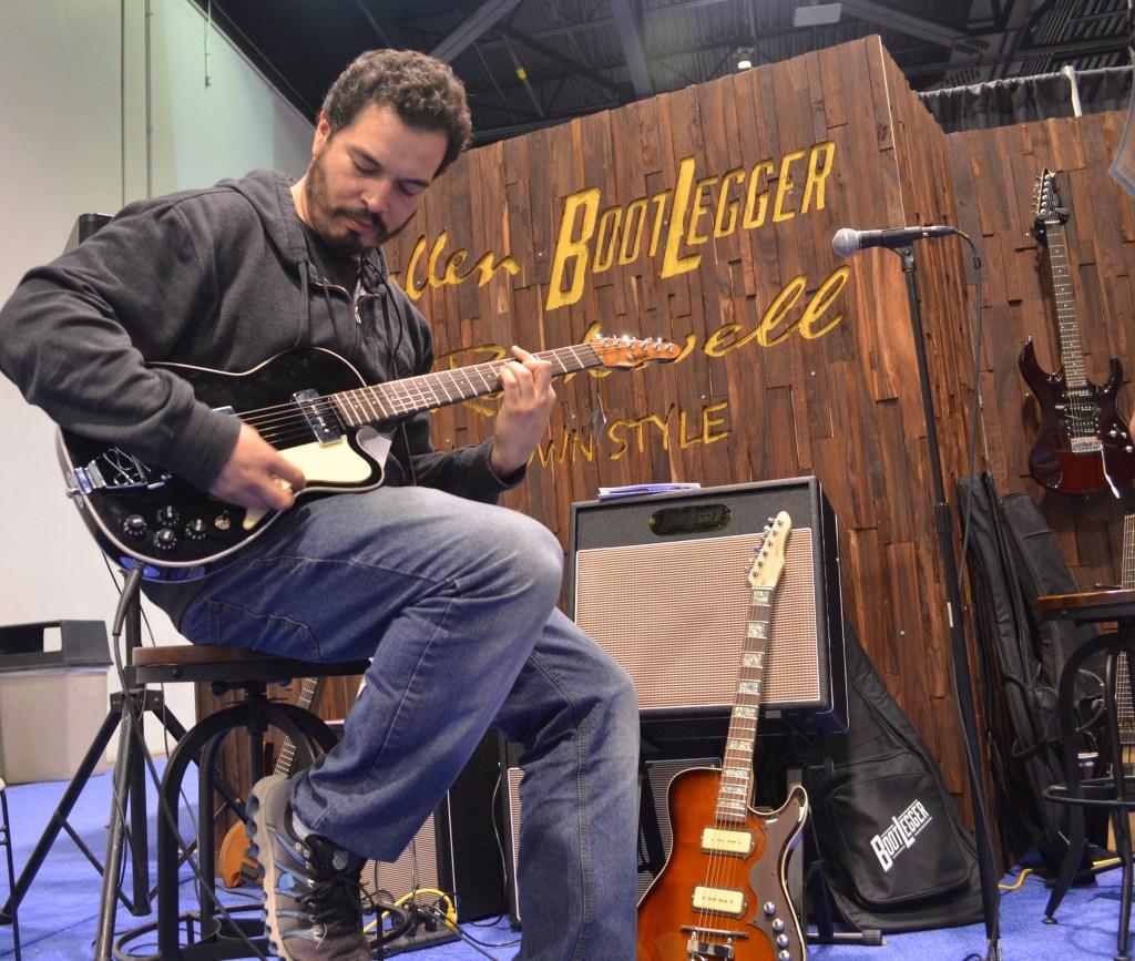 BootLegger Black Rye Rocker Guitar