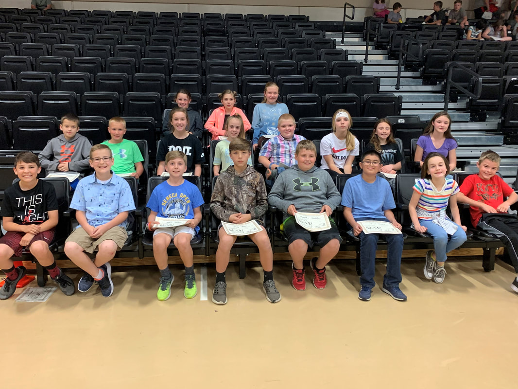 Cassville Fifth Graders Honored For Map Scores