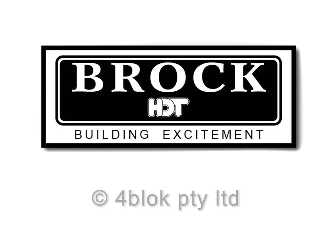Hdt Brock Hdt Decal