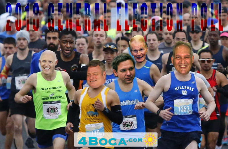 2018 General Election Poll for Boca Raton