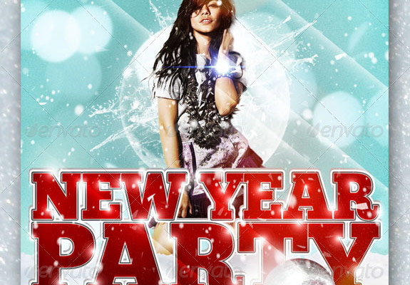 Excellent New Year Party Flyer Templates Four C Graphic and Printing – New Year Party Flyer Template