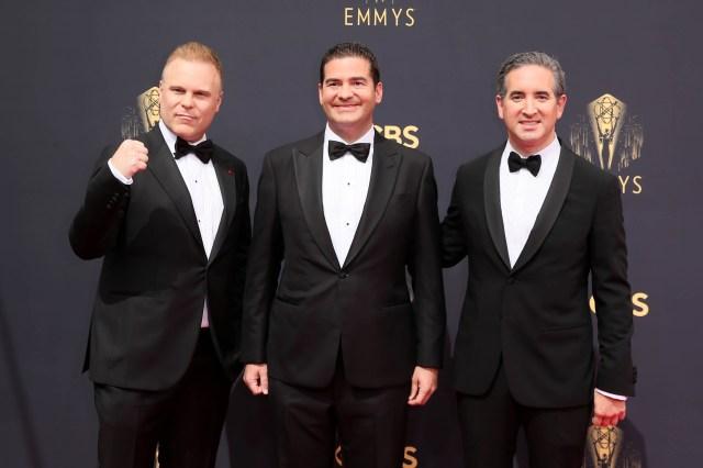 Heald, Jon Hurwitz, Hayden Schlossberg Emmys Red Carpet 4Chion Lifestyle