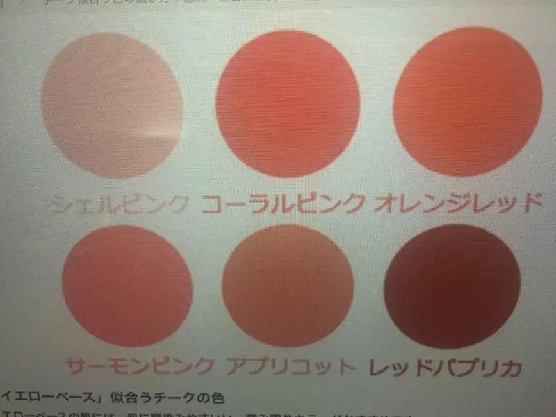 似合うチークの色の選び方!美容師オススメ