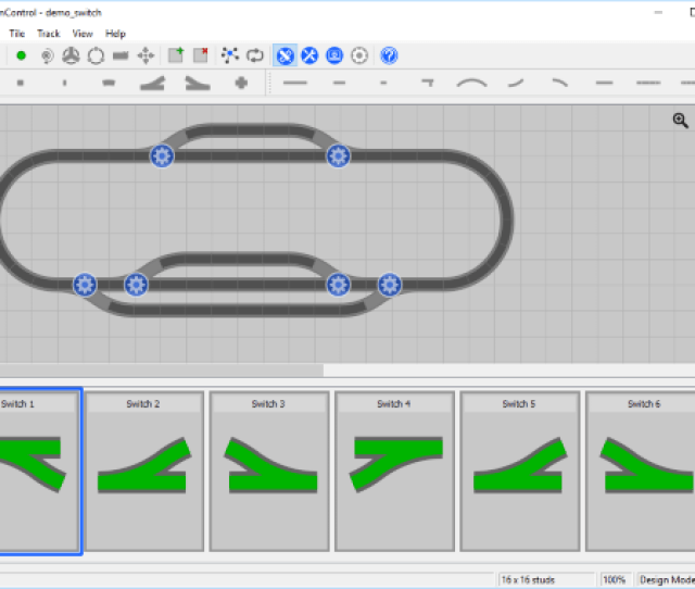 Control Software To Automate Lego Trains And Monorails