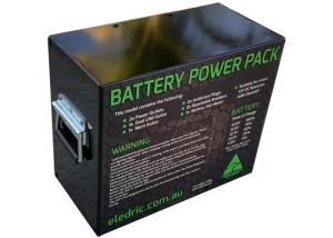 Battery Power Pack Camping Caravanning 4D Engineering - 02