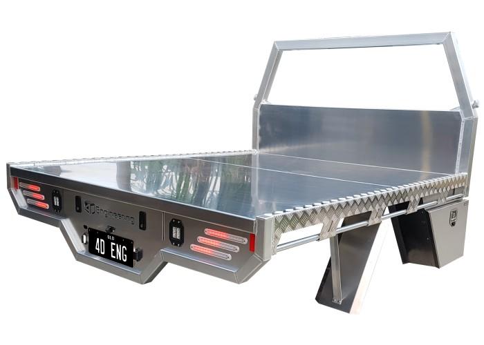 Nissan Titan Aluminium Custom Ute Tray 4D Engineering - 02
