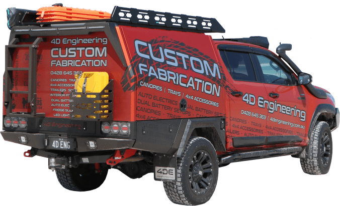 Toyota Hilux Rugged X Custom Aluminium Canopy 4D Engineering 01