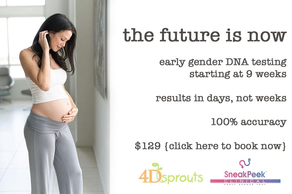 early gender DNA testing Sarasota FL